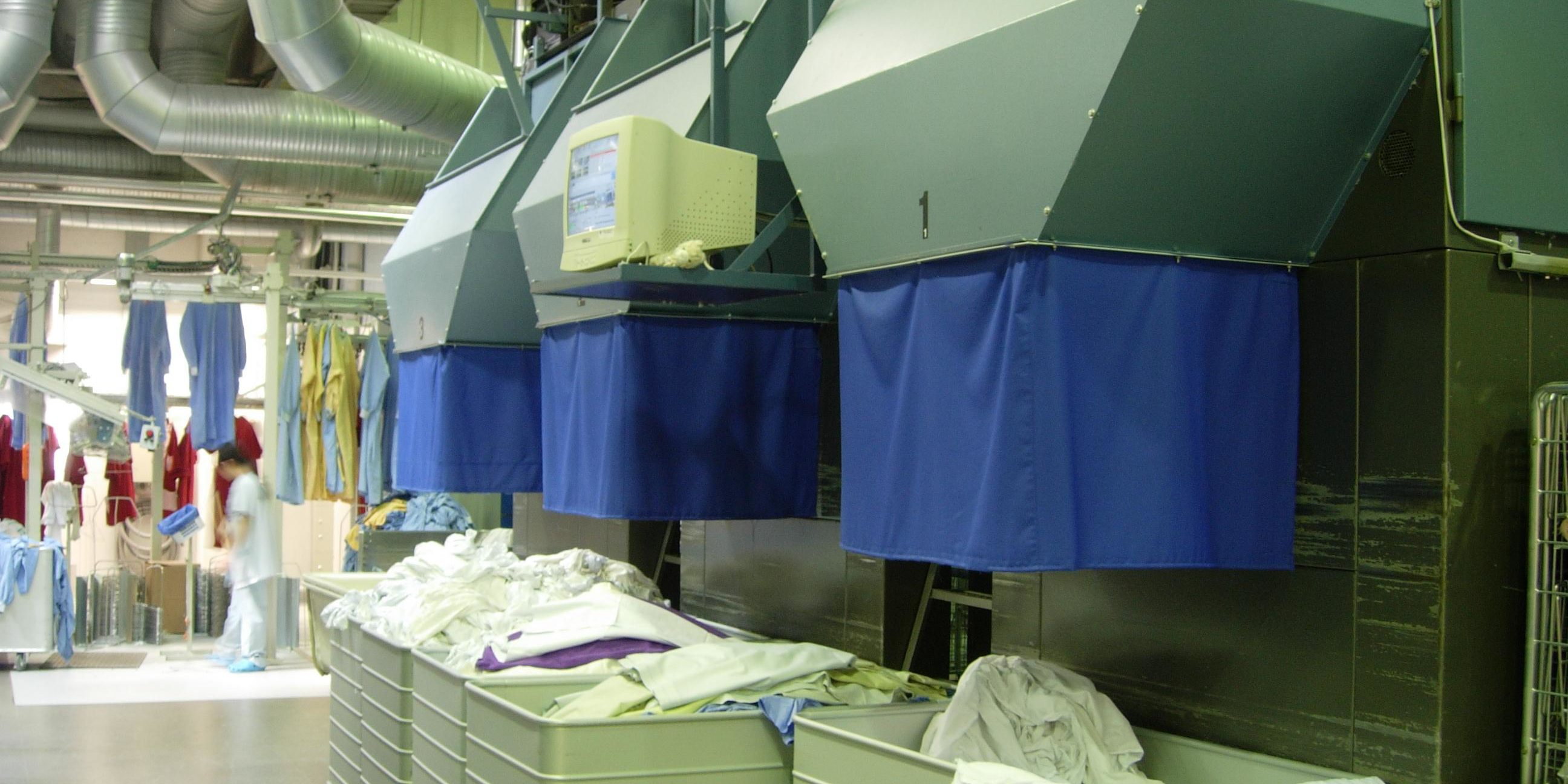 VANCH™ RFID laundry management system