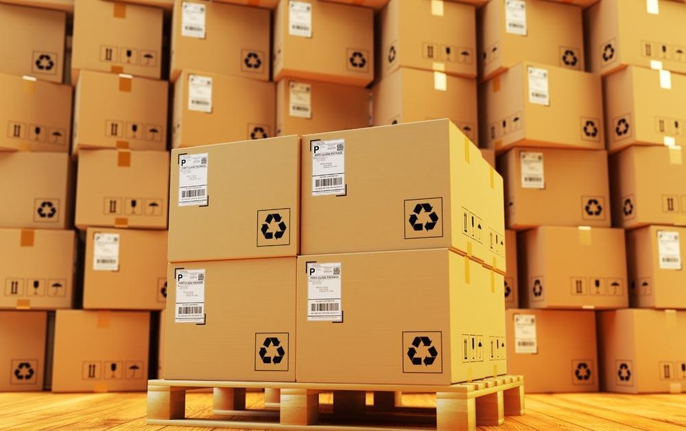 How does RFID technology improve the efficiency of warehouse inventory
