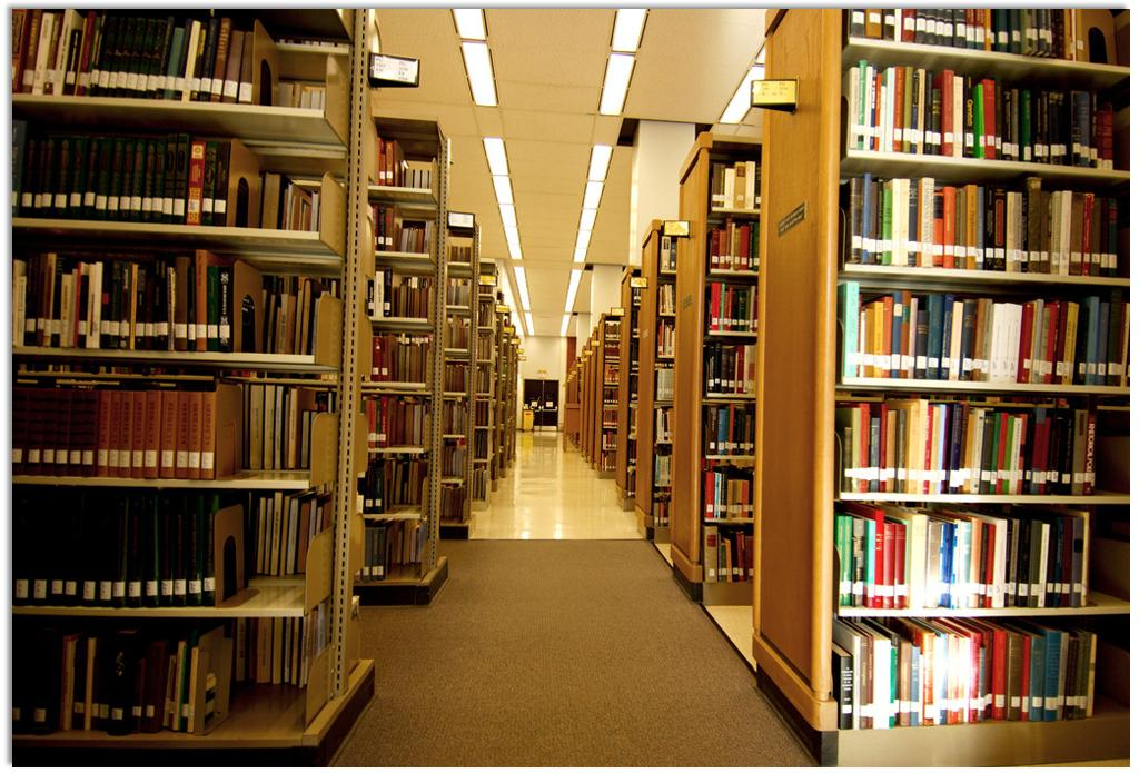 The library used RFID technology for intelligent management